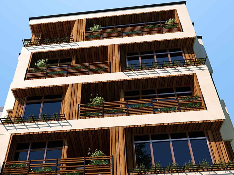 پروژه طراحی و معماری مدرن مجتمع مسکونی کارن