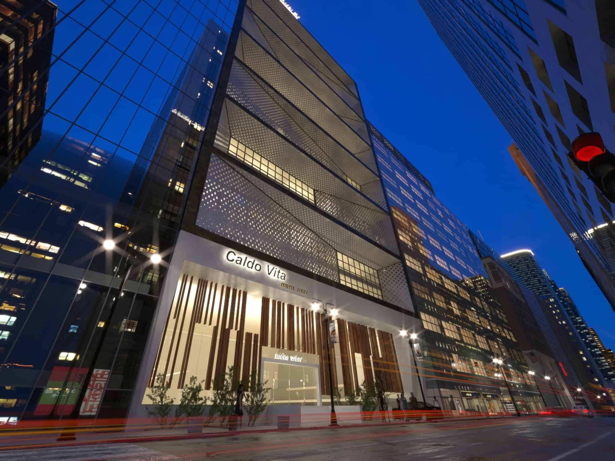 طراحی و معماری مدرن مجتمع تجاری شایگان