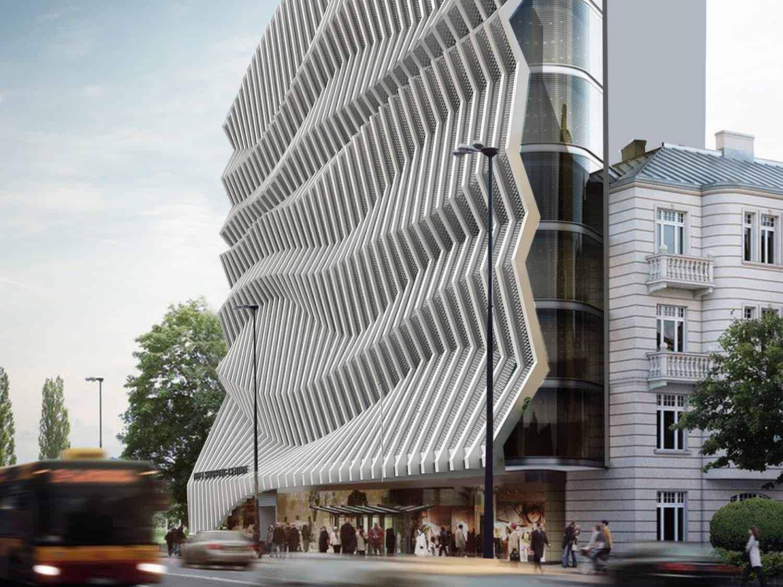 طراحی و معماری پارامتریک مجتمع اداری زیتون
