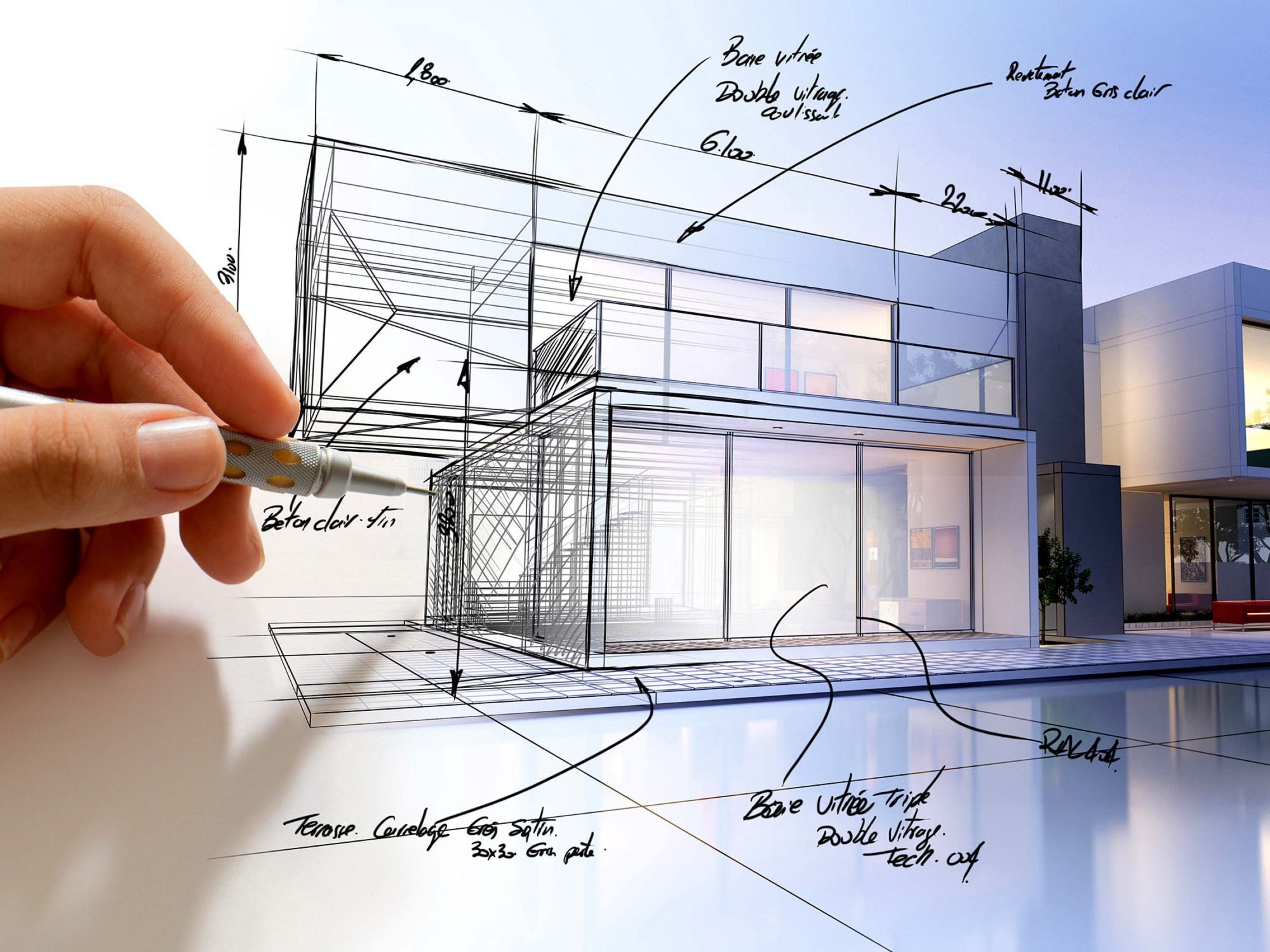 طراحی ویلا | ویلاسازی | طراحی ویلای مدرن | طراحی و ساخت ویلا